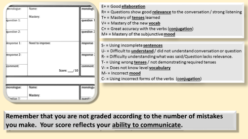 oral assessmentPDA